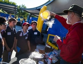 <em>Scientific American</em> Brings Sponsorship, Cool Demos to 2015 Google Science Fair