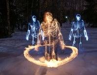 Skeletons of Light