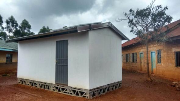 How to Build an Off-Grid Solar School in 2 days in Rural Kenya