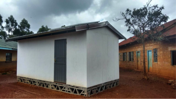 How to Build an Off-Grid Solar School in 2 days in Rural Kenya