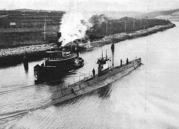 American Submarine Technology for Spain, 1917