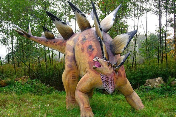 Stegosaurs and the Species Recognition Hypothesis