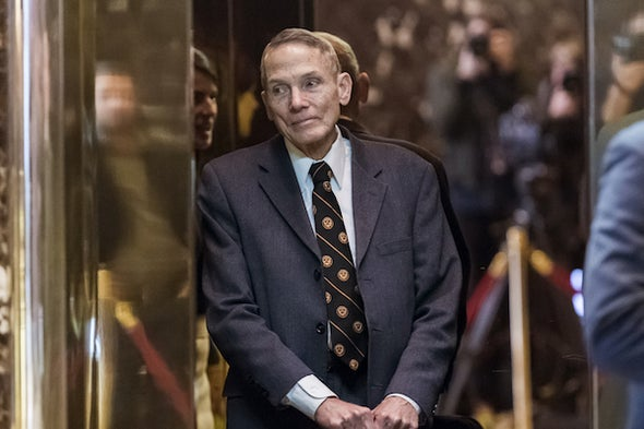 William Happer Courts the Trump Administration