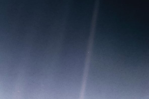 """How the Celebrated """"Pale Blue Dot"""" Image Came to Be"""
