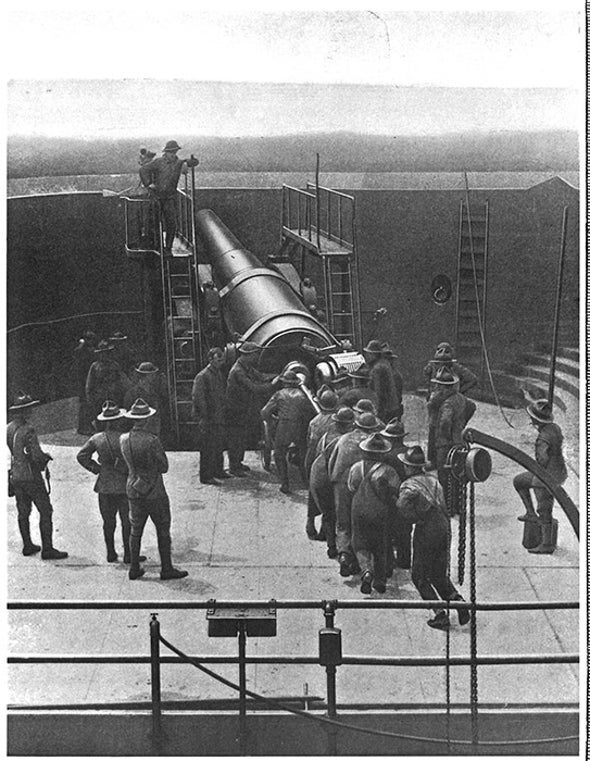Big Guns and Obsolescence, 1915