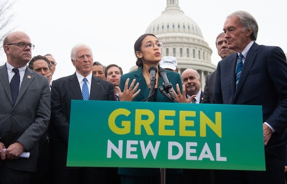 The Climate Benefits of the Green New Deal