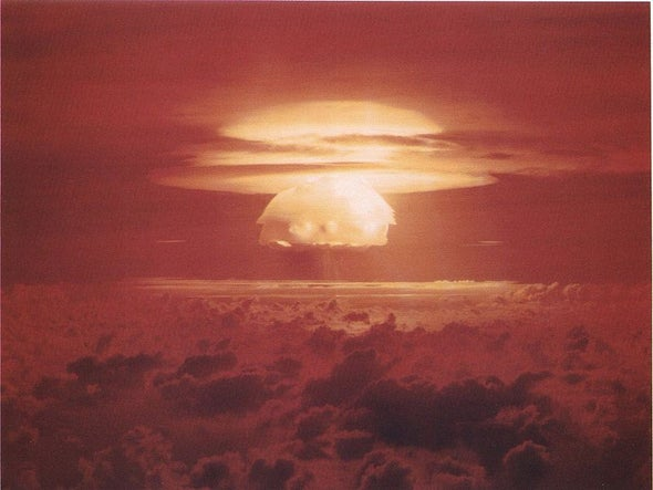Is Nuclear War the Only Cure for Inequality?