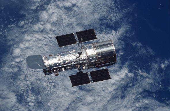 A Birthday Message from the Hubble Telescope