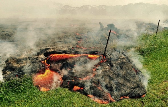 The Awesome Power of Lava: Watch Metal Burn!