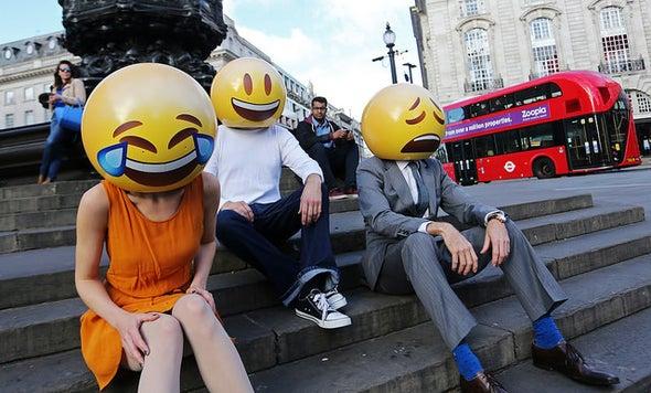 "Why Is the ""Tears of Joy"" Emoji Everywhere?"