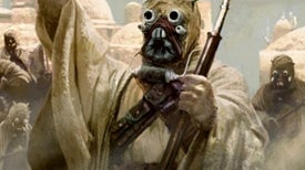 Tusken Raiders Ride Single File as a Valid Military Tactic