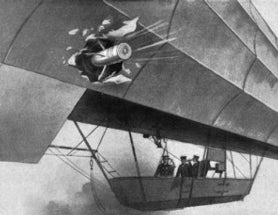 Air Defenses against Zeppelins, 1915