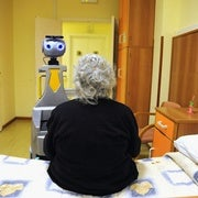 Can Robots Tighten the Bolts on a Rickety Caregiver Sector?