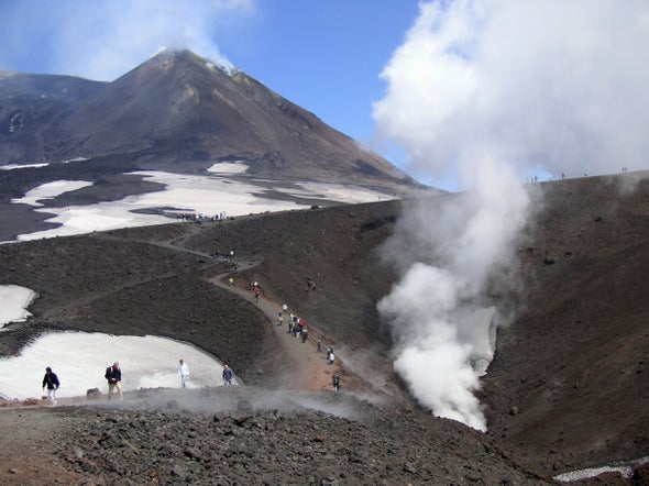 Excitement on Etna: The Danger of Phreatic Eruptions [Video]