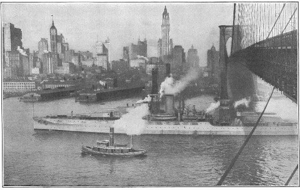 Ill-Fated Battleship, 1916