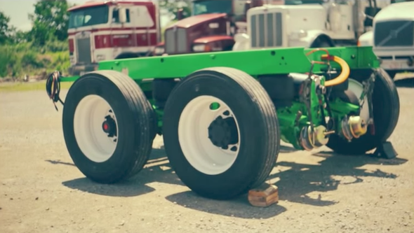 You've Heard of Hybrid Cars--How about Hybrid 18-Wheelers?