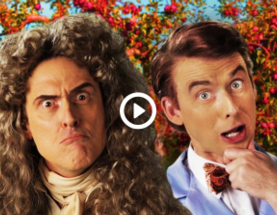 Monday Music Video: An Epic Rap Battle Between Newton and Nye!