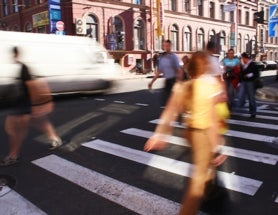 Cities Where It's Faster to Walk than Drive
