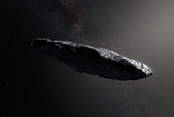 flyby of asteroid portends quadrillion trillion more in galaxy