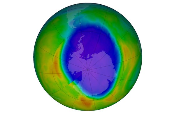 Falling Walls: How Repairing the Ozone Hole Helped the Climate