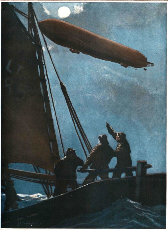 The Zeppelin Terror, 1916