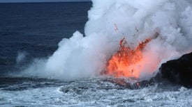 Lava Boat Bombed by Kilauea and Other Volcanic News