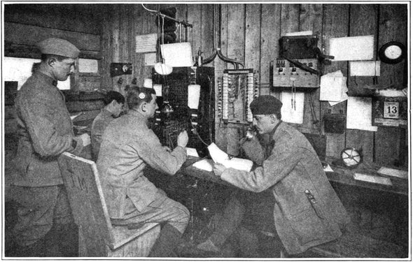The Telephone at War, 1916