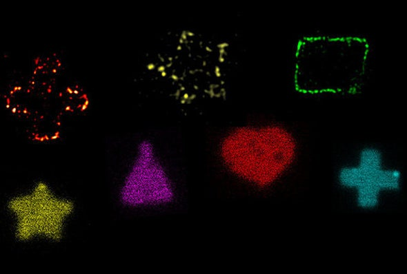 Scientists Sculpt Bacteria into Hearts, Moons and Stars