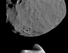 Curiosity Catches Sight of Mars' Moon Passing the Other