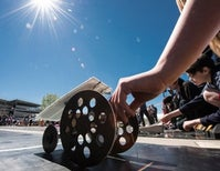 Middle School Students Test Their Designs in 27th Solar and Lithium Ion Car Races