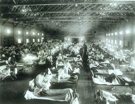 100 Years after the Lethal 1918 Flu Pandemic, We Are Still Vulnerable