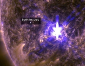 The March 11 Solar Flare