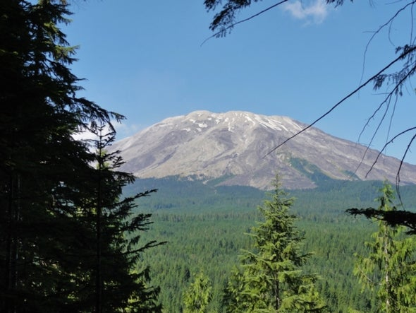 A Super-Sweet Lava Tube and Hawt Lahar Action at Mount Saint Helens