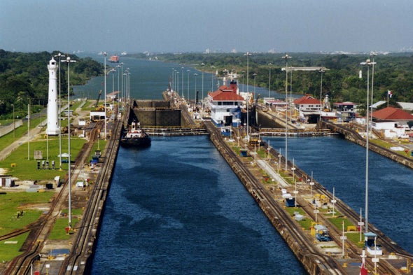 The Panama Canal Can Now Accommodate 90 Percent of the World's LNG Tankers