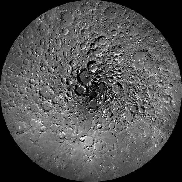 The Moon as a Fishing Net for Extraterrestrial Life