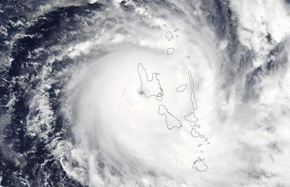 First Category 5 Tropical Cyclone Of 2020 Harold Pounds Vanuatu Scientific American Blog Network