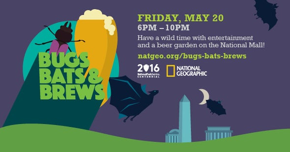 Bugs, Bats, Brews and BioBlitz in Washington, D.C.!