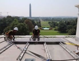 Fight over Solar Power Returns to White House Roof [Video]