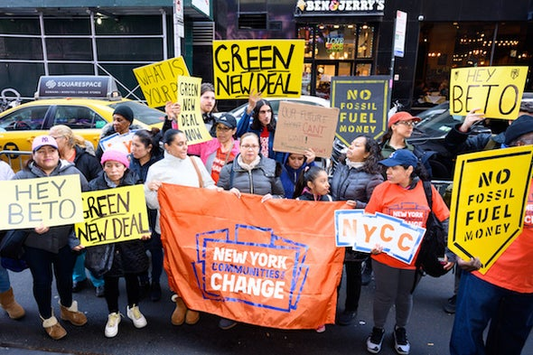 Scientists Must Speak Up for the Green New Deal