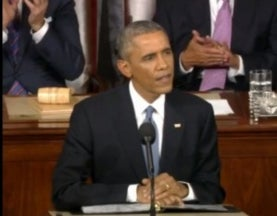 Science Far from Center Stage in Obama's State of the Union