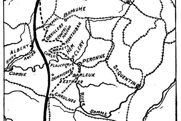 Battle of the Somme, 1916 - Scientific American Blog Network on battle of the frontiers map, battle of lorraine map, treaty of versailles map, battle of caporetto map, battle of passchendaele map, russian empire map, battle of belleau wood map, battle of vimy ridge map, battle of gallipoli map, battle of neuve chapelle map, franco-prussian war map, finnish civil war map, russian civil war map, eastern front map, gallipoli campaign map, battle of the somme map, second battle of the marne map, arab revolt map, battle of cer map,