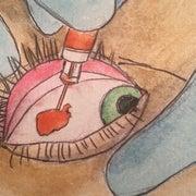 The Terrifying Trend of Eyeball Tattoos