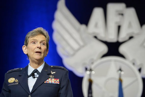 A Female General's Climb up the Air Force Ladder