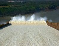 Photo Friday: The sounding stone on the Parana River