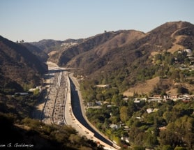 Photoblogging: Dinosaurs and LA Freeways
