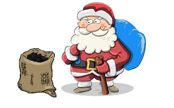 圣诞老人在哪里得到他的煤??
