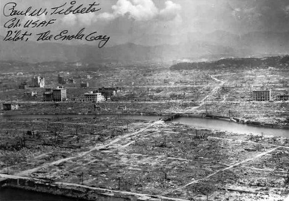 """Historian Contemplates """"Ugly"""" Reality of Hiroshima and Nagasaki"""
