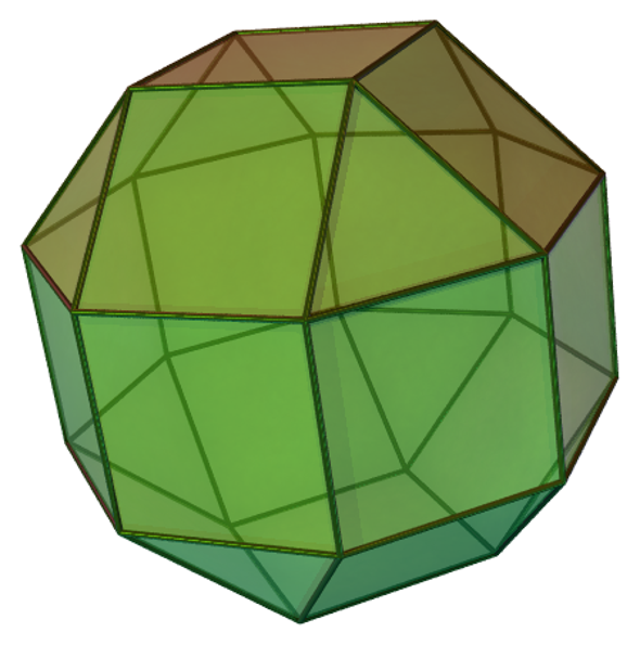 A Few of My Favorite Spaces: The Pseudo-Rhombicuboctahedron