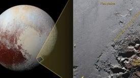 Krun Macula Meets Sputnik Planum on Pluto [Video]