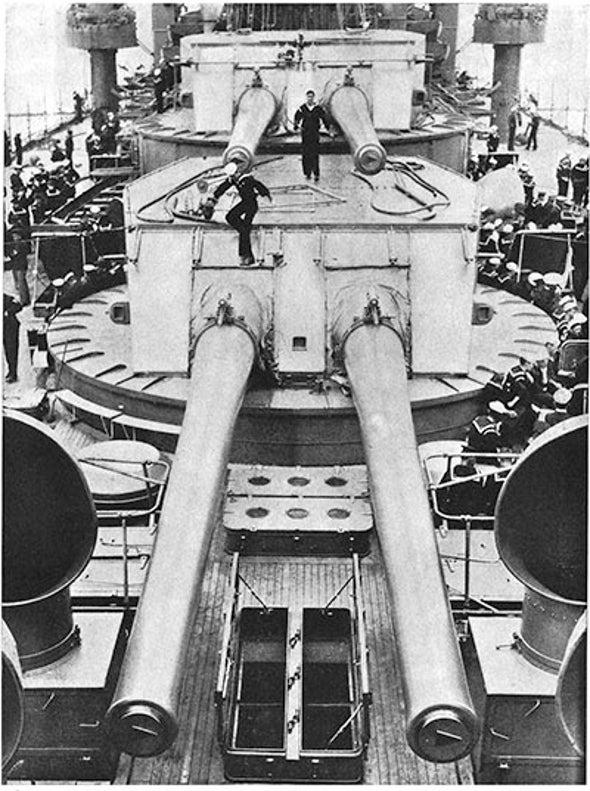 "American Heavy Metal: ""Dreadnought"" Battleships, 1915"